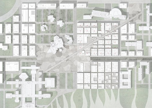 ECP as a generator of urbanity - Image courtesy of OMA