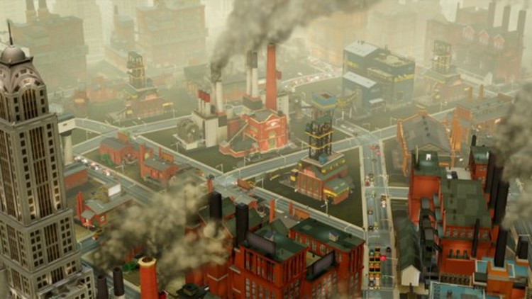 An Industrial SimCity.