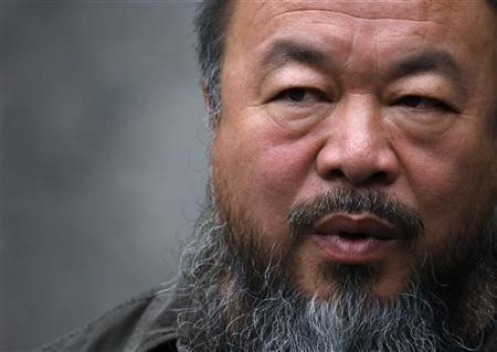 Ai Weiwei. Photo via REUTERS © David Gray.