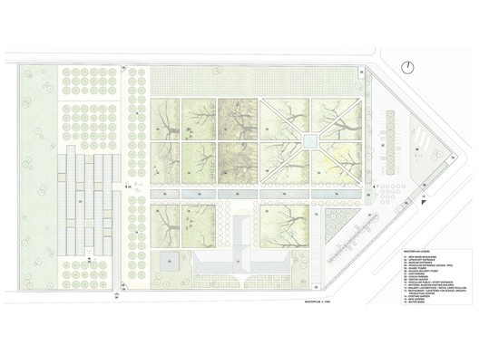 1st prize / master plan - Courtesy of AV 62 Arquitectos