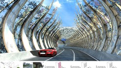 Forest Corridor – Highway Noise Barrier / BREAD Studio