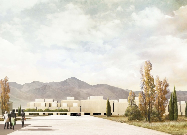 2nd prize - Courtesy of Mansilla + Tuñón Arquitectos