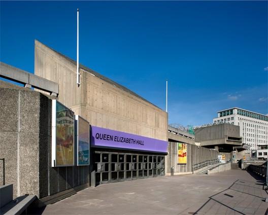 Queen Elizabeth Hall and Hayward Gallery © Morley von Sternberg
