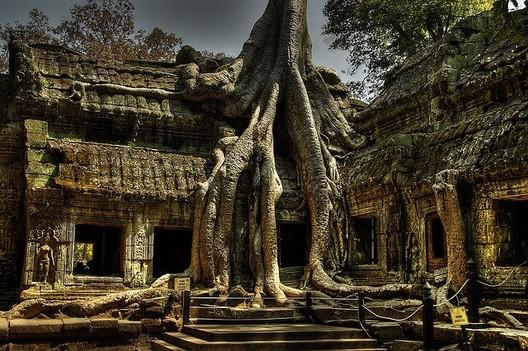"Ruins in Angkor, Wat. Photo ""Cambodia"" via Flickr CC User Macorig Paolo"