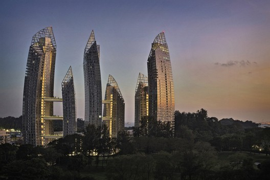 Studio Daniel Libeskind, DCA Architects PTE Ltd, with Reflections at Keppel Bay