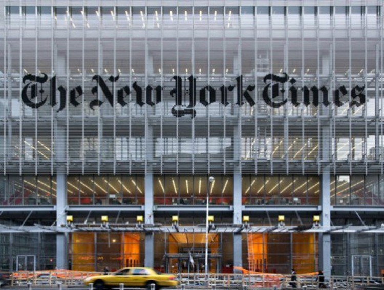 The New York Times Building, by Renzo Piano.