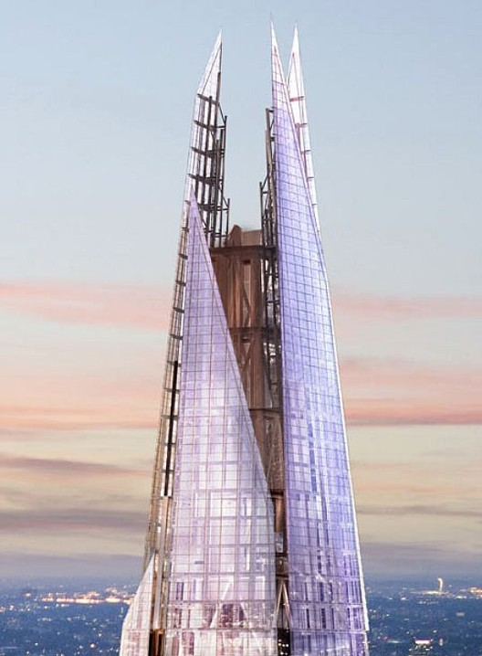 The Shard, by Renzo Piano.
