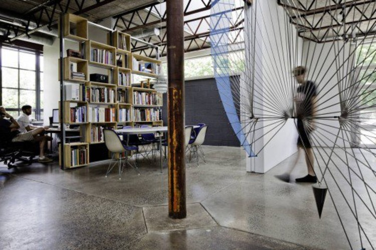 Tovin Studios / Sebastian Quinn Building Workshop. Photo © Francois Dischinger.