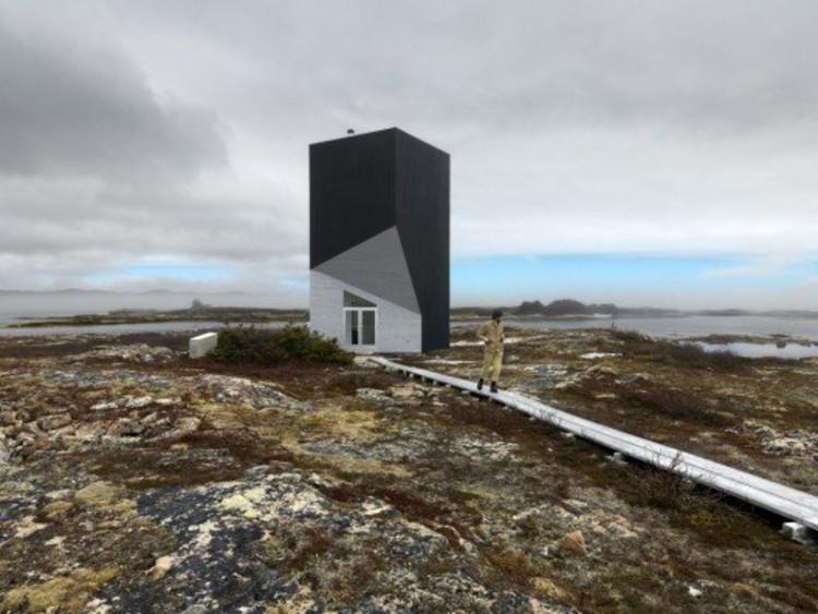 Tower Studio / Saunders Architecture. Photo © Bent René Synnevåg