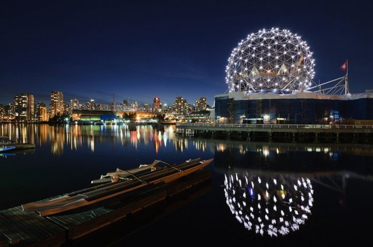 Shot of Vancouver, site of the Greenest Olympics to date. Photo via Flickr CC User bruce.. Used under <a href='https://creativecommons.org/licenses/by-sa/2.0/'>Creative Commons</a>