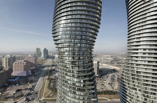 Absolute Towers - Courtesy of MAD architects