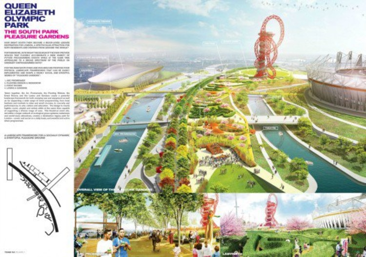 South Plaza Proposal via Olympic Park Legacy Company