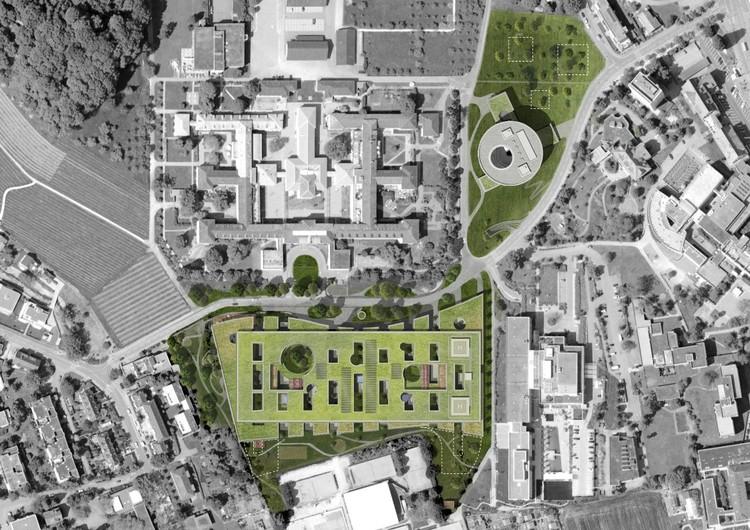Site Aerial © Herzog & de Meuron