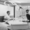 TWA Terminal / Courtesy of Eero Saarinen Collection; Manuscripts and Archives, Yale University Library