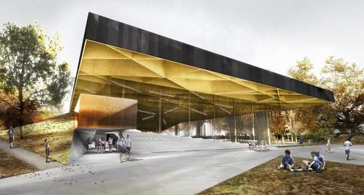 Courtesy of Saucier + Perrotte & Hughes Condon Marler Architects
