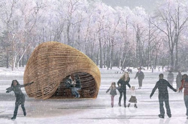 ROPE Pavilion by Kevin Erickson and Allison Warren