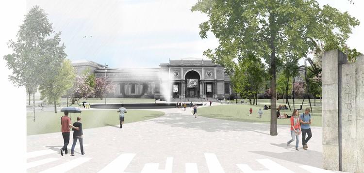 Courtesy of Karres en Brands Landschapsarchitecten + Polyform Arkitekter