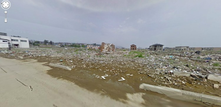 Ishinomaki, Miyagi Prefecture: After - Via Google