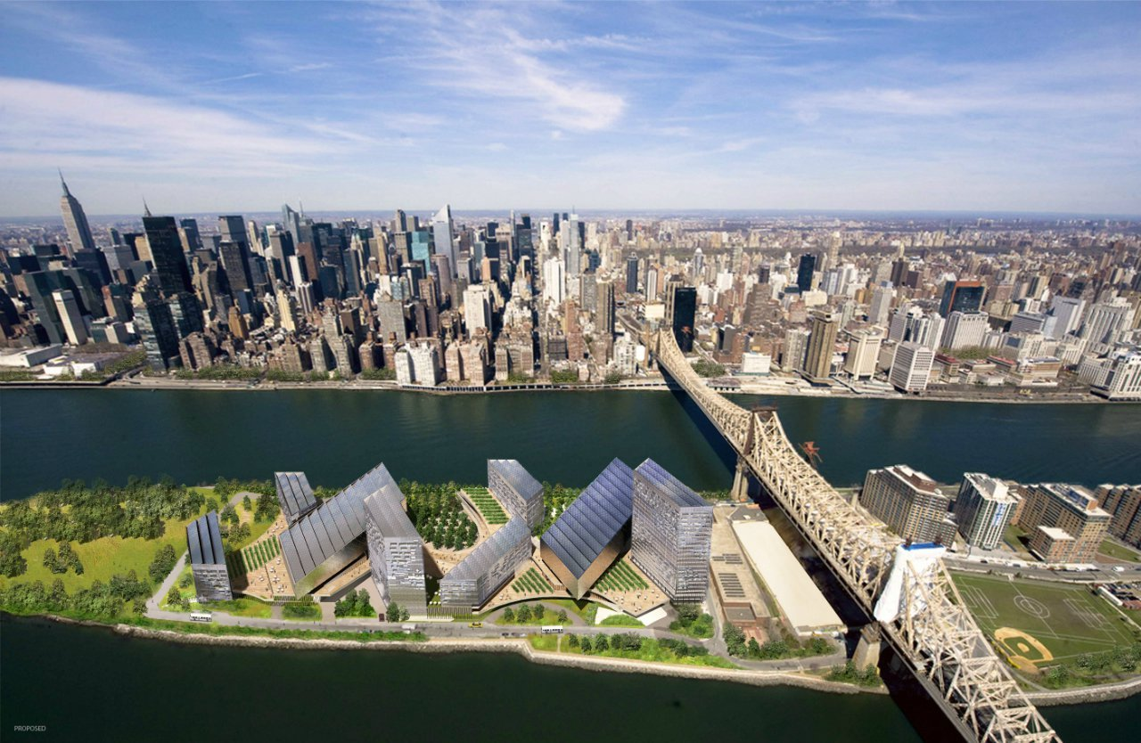 Gallery of Cornell's NYC Tech Campus Wins Competition - 1