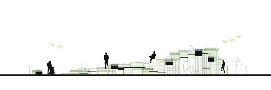 """Gallery of """"Taste The Slope"""" Proposal / Active City Transformation ..."""