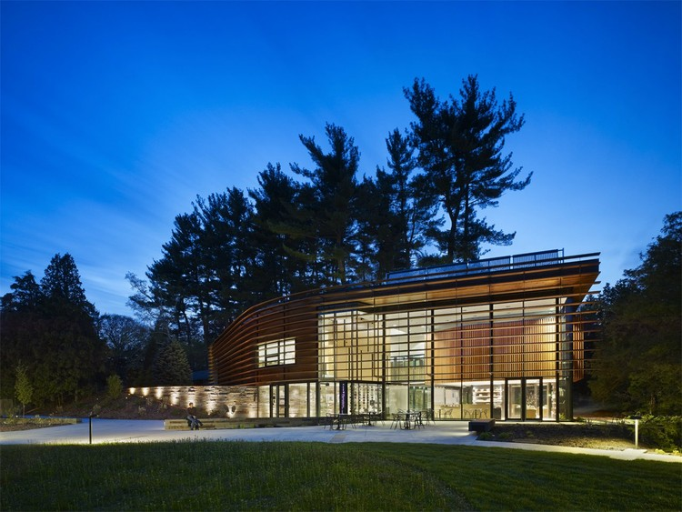 Cornell Plantations Welcome Center © Tom Arban