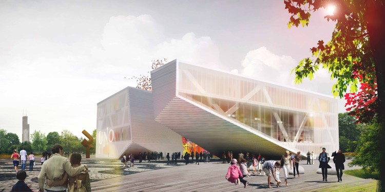 Uno charter school proposal stl architects archdaily for Stl architects
