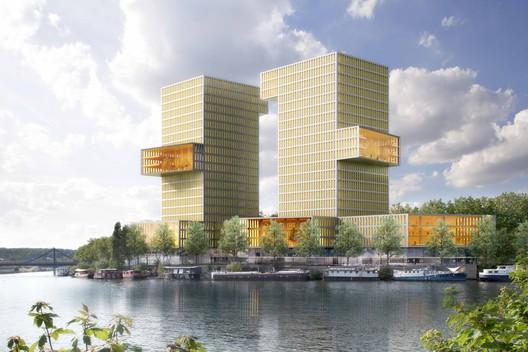 Courtesy of ECDM Architectes