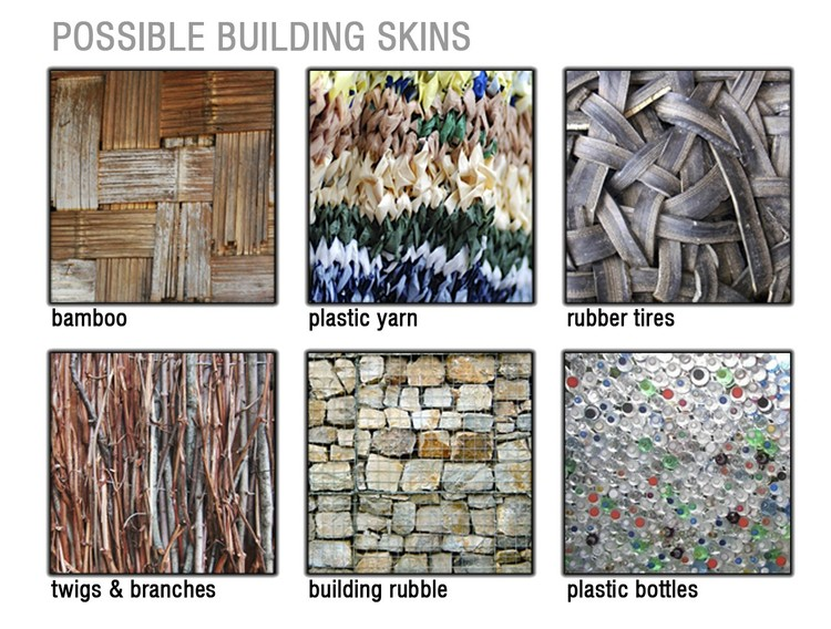Possible Building Skins - Courtesy of David Lopez