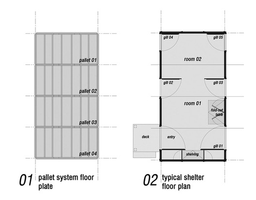Floor Plans - Courtesy of David Lopez