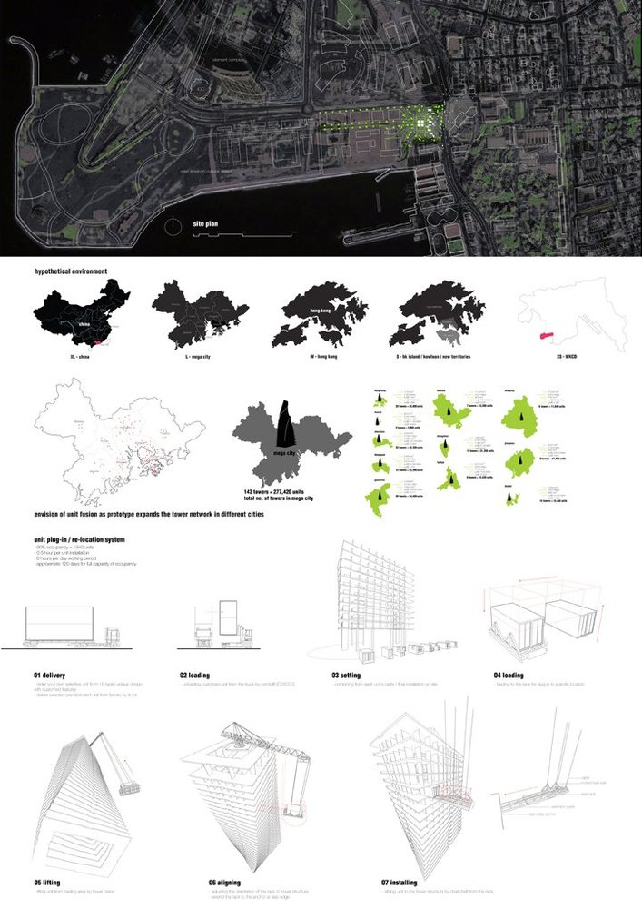 Housing Development / Y Design Office,drawings 04
