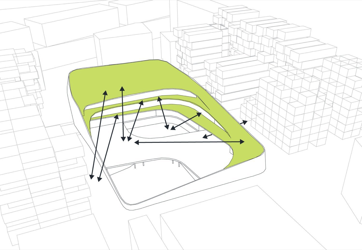 Gallery of primary school sport hall chartier dalix for Drupal 7 architecture diagram