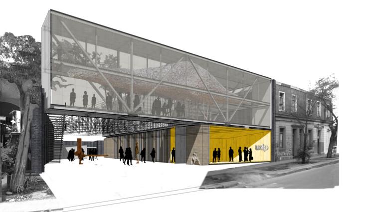 Ganadores concurso ampliaci n de la facultad de for Mapa facultad de arquitectura