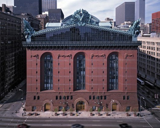The Harold Washington Library Center / Thomas H. Beeby, Courtesy of University of Notre Dame