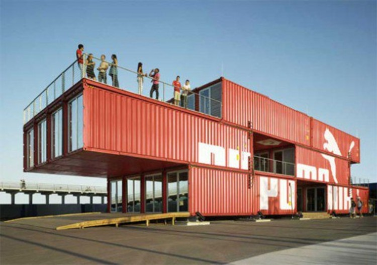 Puma City Shipping Container Store  © Danny Bright