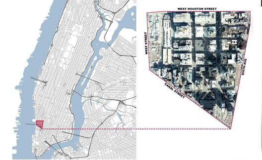 context diagram 01 / Courtesy of Mathews Nielsen Landscape Architects
