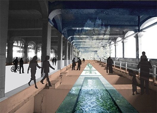 First Place (Tied) / Ashley Craig, Edna Ledesma, Jessica Zarowitz; Courtesy of Transforming the Bridge Competition