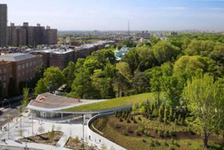 Brooklyn Botanic Garden Visitor Center © Albert Vecerka / ESTO