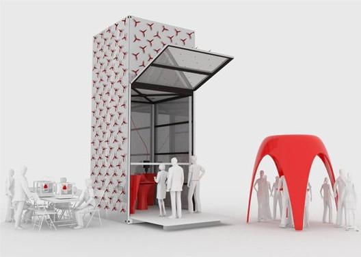 KamerMaker Courtesy of Dus Architects and KamerMaker; via Pop Up City Blog