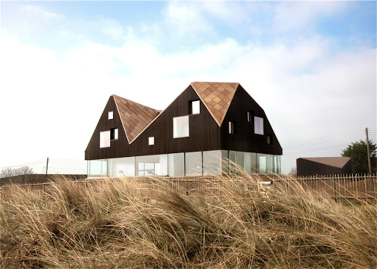 Dune House / Jarmund Vigsnaes Architects & Mole Architects © Chris Wright