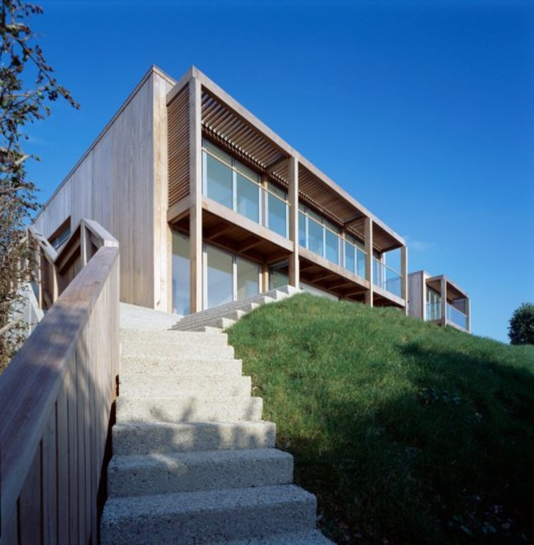Two Passive Solar Gain Houses / Simon Condor Associates © Paul Smoothy