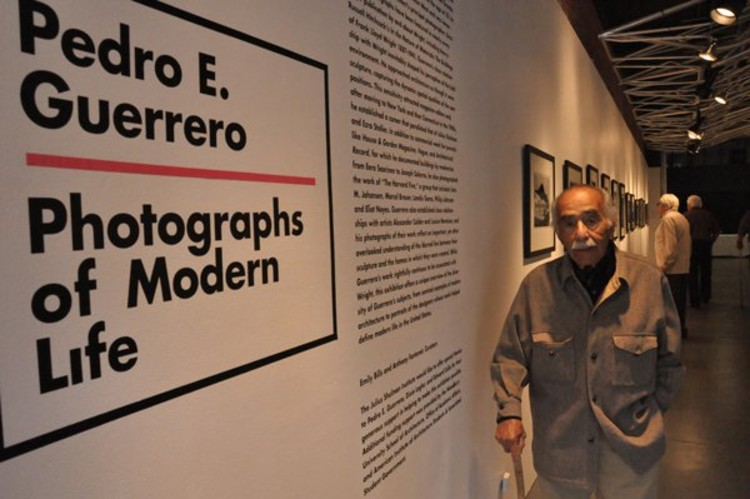 Pedro E. Guerrero in April - Courtesy of the Julius Shulman Institute