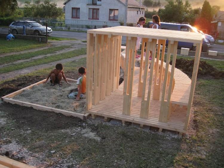 HelloWood 2012: Playground © Gulyás Erzsébet