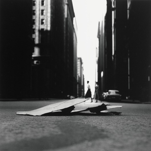 © Ray K. Metzker. Chicago, negative 1958; print 1985. Gelatin silver print print. 18.3 x 18.3 cm