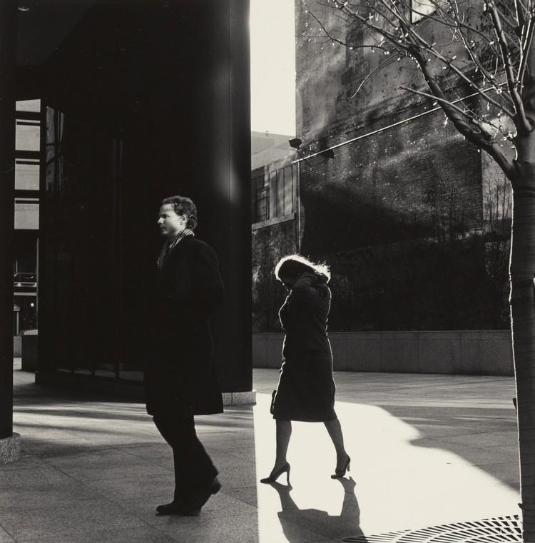 © Ray K. Metzker. City Whispers, Philadelphia, 1983. Gelatin silver print print. 24.5 x 24 cm.