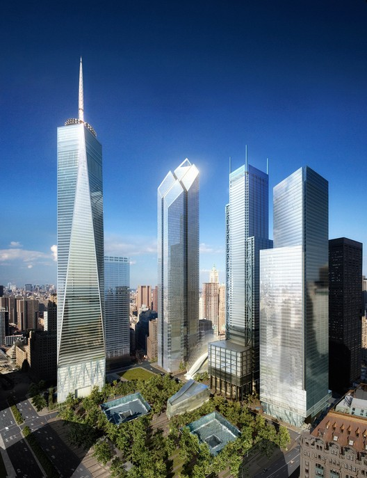 WTC Site Day, Silverstein Properties, New York © Silverstein Properties