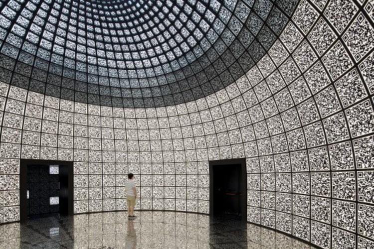 "© Nico Saieh. Russia's Pavilion ""i-city"""