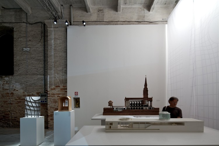 Venice Biennale 2012: Inhabitable Models / Eric Parry Architects, Haworth Tompkins, Lynch Architects, © Nico Saieh