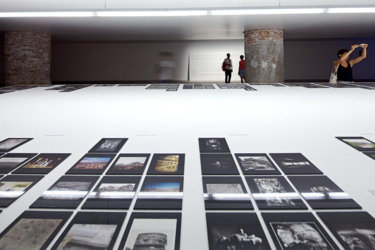 Venice Biennale 2012: Pictographs - Statements of Contemporary Architects / Valerio Olgiati, © Nico Saieh
