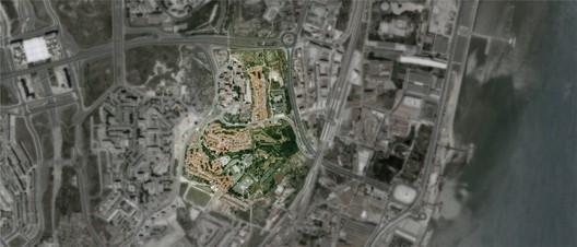 Aerial photo of the PRODAC neighborhood. - Courtesy of ateliermob