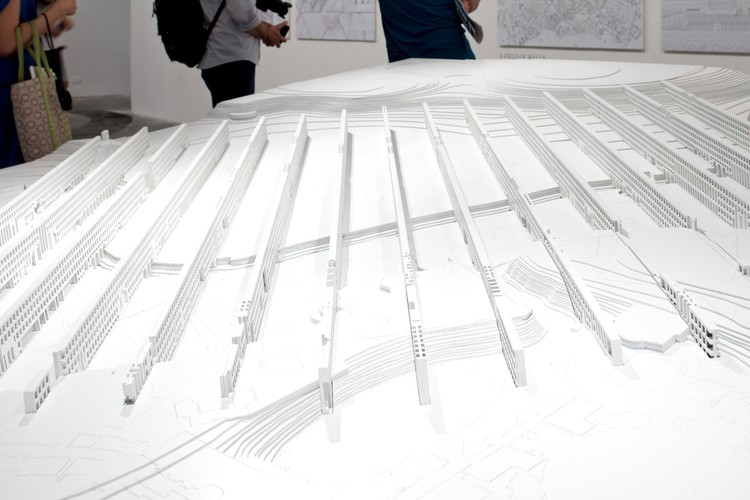 Venice Biennale 2012: The Piranesi Variations / Peter Eisenman, Field of Walls / Dogma © Nico Saieh
